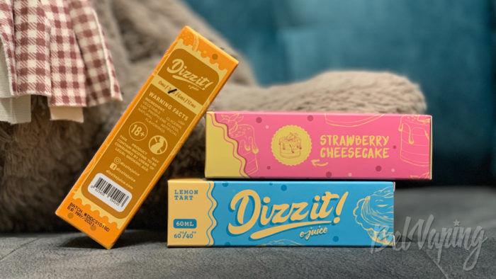 Упаковка жидкости Dizzit!