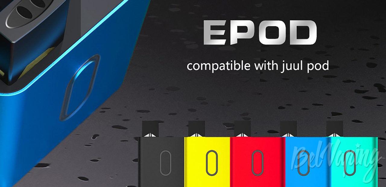E-bossvape Epod Starter Kit. Первый взгляд