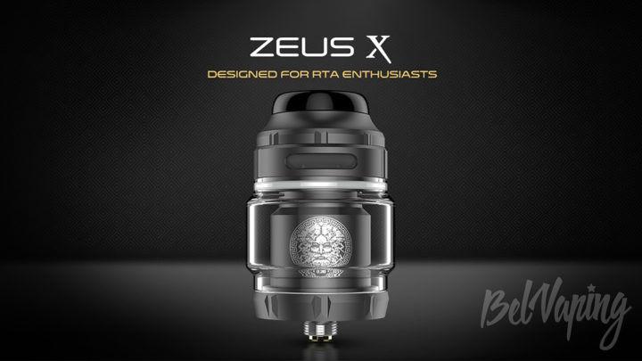 GeekVape Zeus X RTA. Первый взгляд