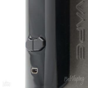 Кнопки регулировки и разъем USB боксмода Augvape VX200