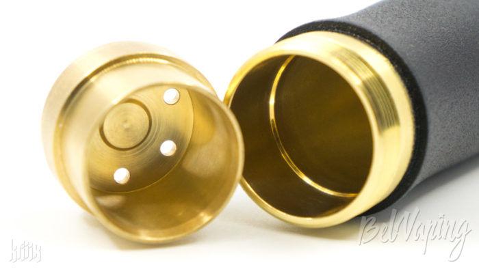 Толкатель кнопки мехмода и внутренняя обработка корпуса Kraken