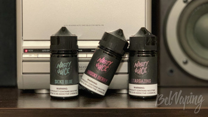Линейка жидкости Nasty Berry Series от Nasty Juice