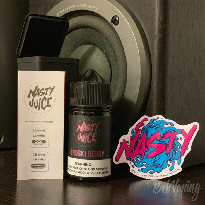 Тара и комплект Nasty Berry Series от Nasty Juice