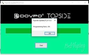 Обновление прошивки Topside Squonk Mod