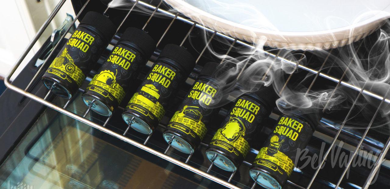 Обзор жидкости BAKER SQUAD от Top Liquid