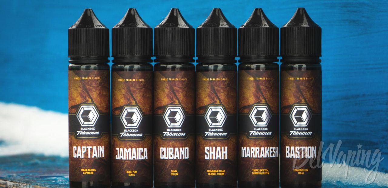 Обзор жидкости BlackBox Tobaccos