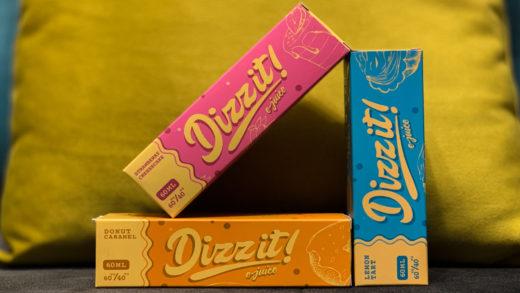 Обзор жидкости Dizzit E-Juice