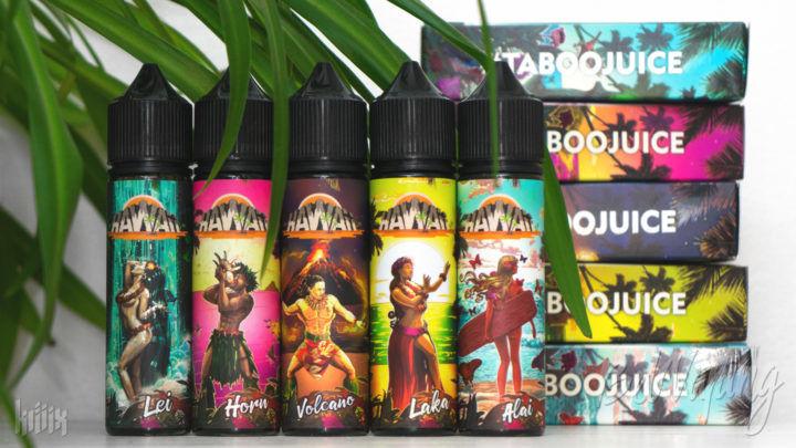 Обзор жидкости Hawaii от Taboo