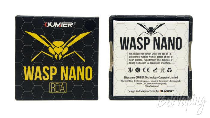 Oumier WASP NANO RDA - упаковка