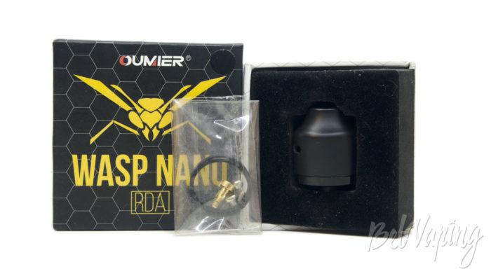 Oumier WASP NANO RDA - комплект поставки