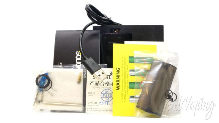 Smoant Battlestar Squonker kit - комплект поставки