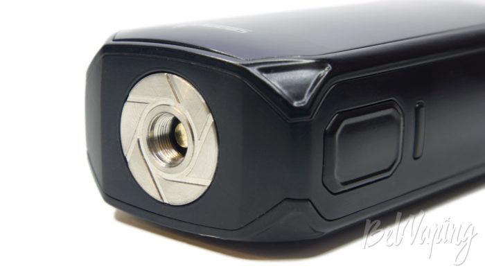 Smoant NABOO 225W mod - коннектор и кнопки управления