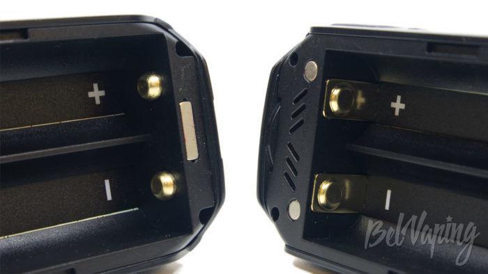 Smoant NABOO 225W mod - контактные площадки