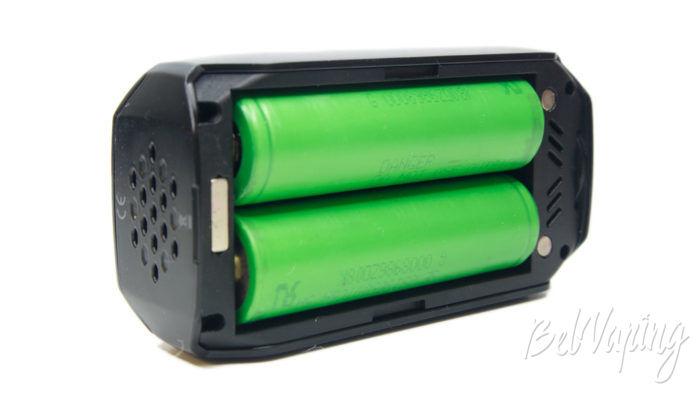 Smoant NABOO 225W mod - установка аккумуляторов