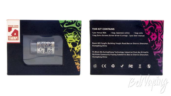 Stagevape VENUS RDA - упаковка
