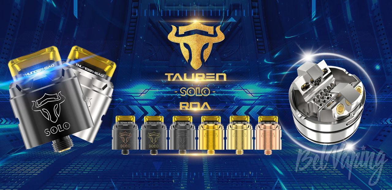 THC Tauren Solo RDA. Первый взгляд