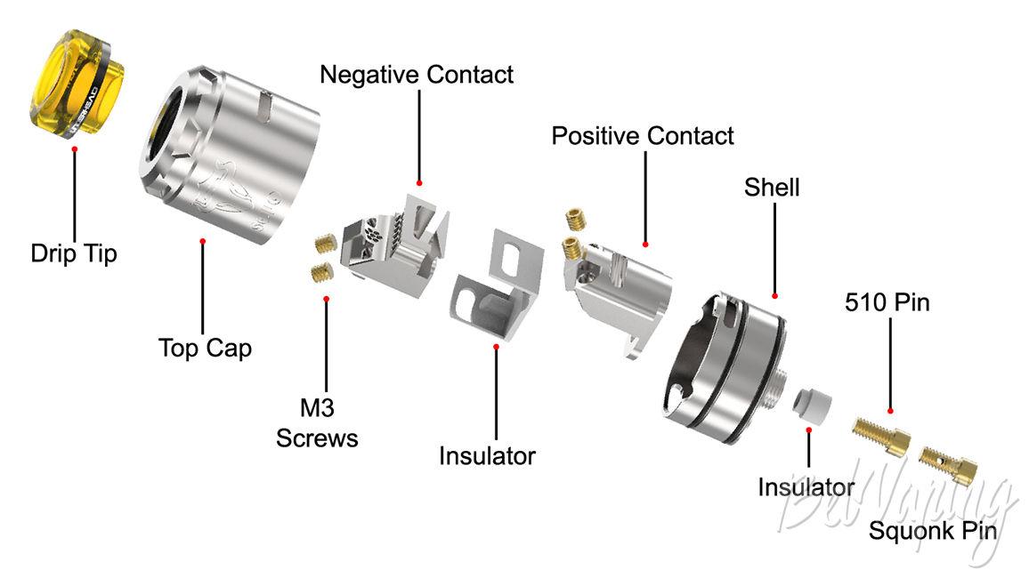 Конструктив THC Tauren Solo RDA