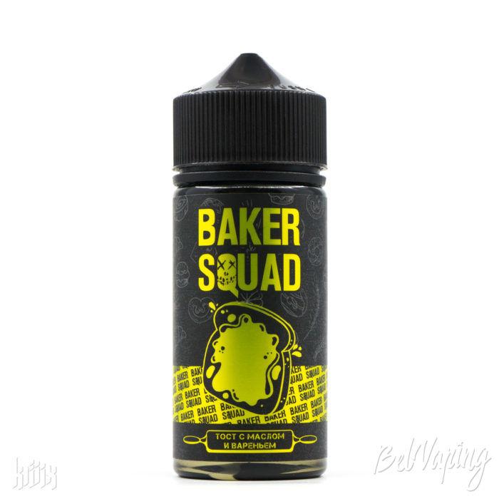 Жидкость Baker Squad - Тост с маслом и вареньем