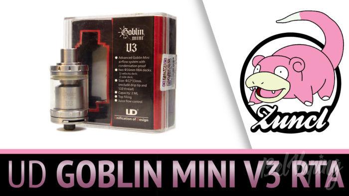 Обзор UD GOBLIN MINI V3 RTA