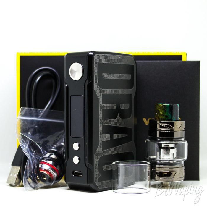 Комплектация VOOPOO Drag 2 Kit