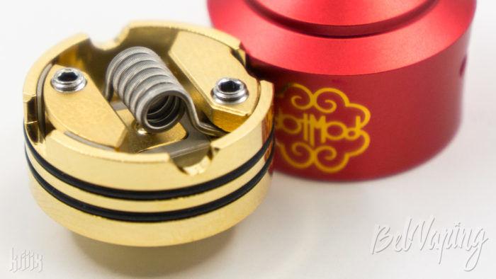 Установленная спираль в dotRDA Single Coil
