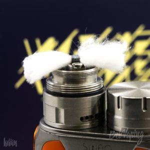 Укладка хлопка в BY-ka V8