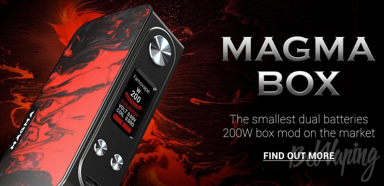 FamoVape Magma Box Mod. Первый взгляд