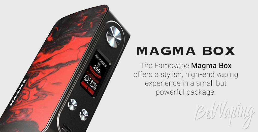Дисплей FamoVape Magma Box Mod