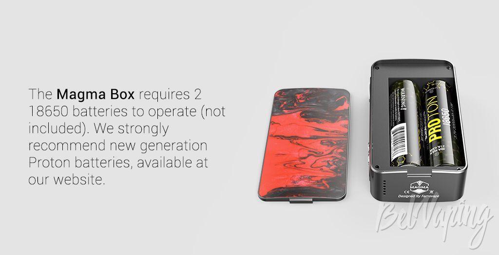 Отсек АКБ FamoVape Magma Box Mod