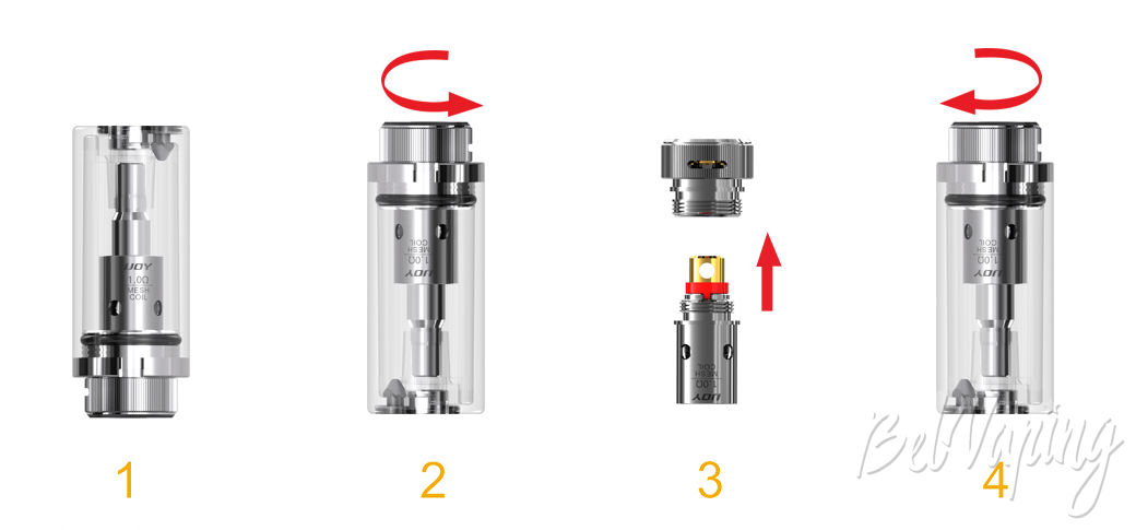 Смена испарителя IJOY Mercury Kit