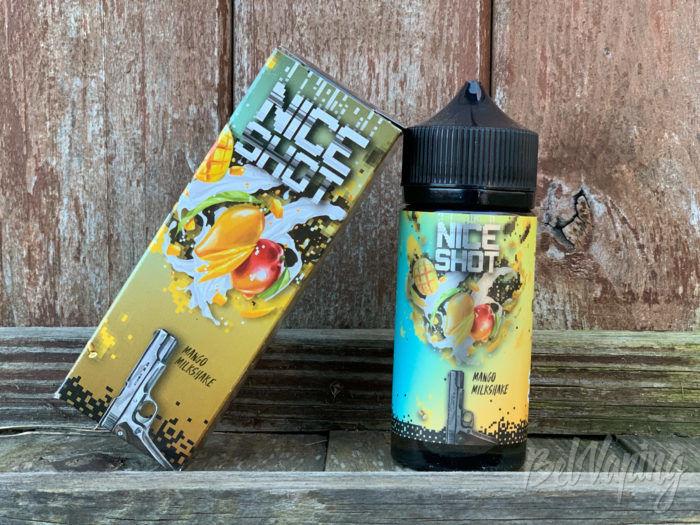 Жидкость Mango Milkshake от Nice Shot