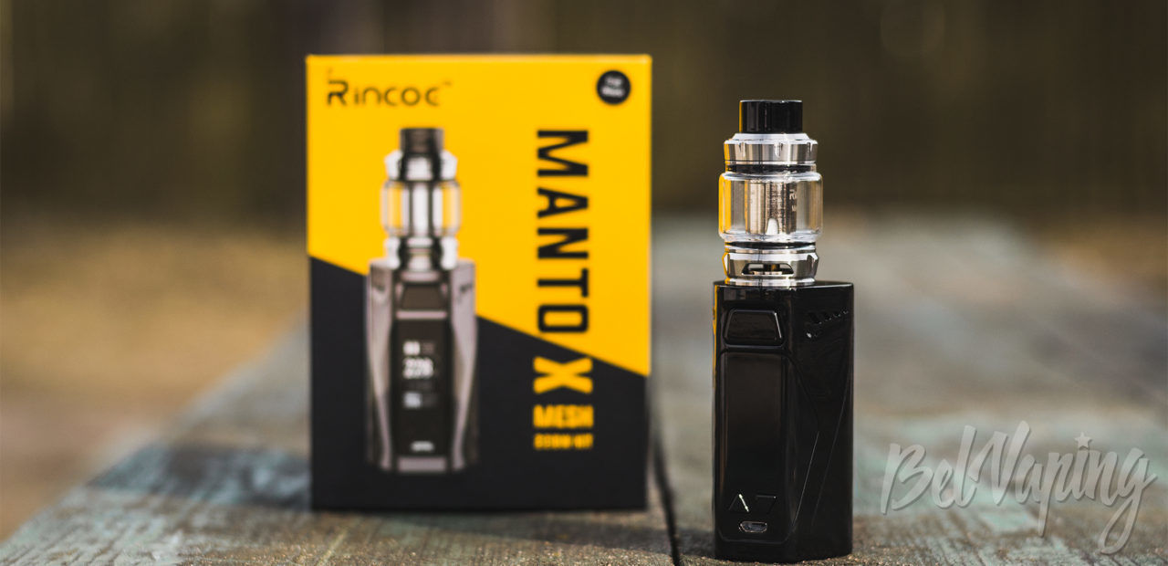 Обзор Rincoe Manto X Mesh Kit