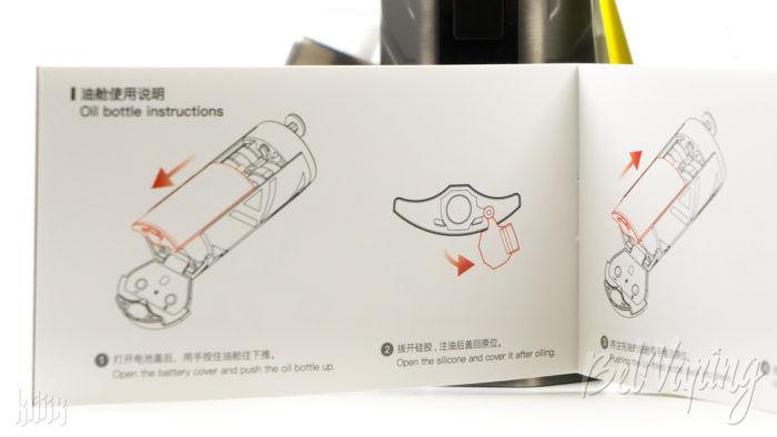 Инструкция Smoant Battlestar Squonker Kit
