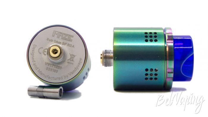VandyVape MAZE Sub Ohm BF RDA - коннектор