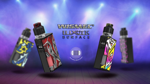 Wismec Luxotic Surface BF Squonk Kit. Первый взгляд