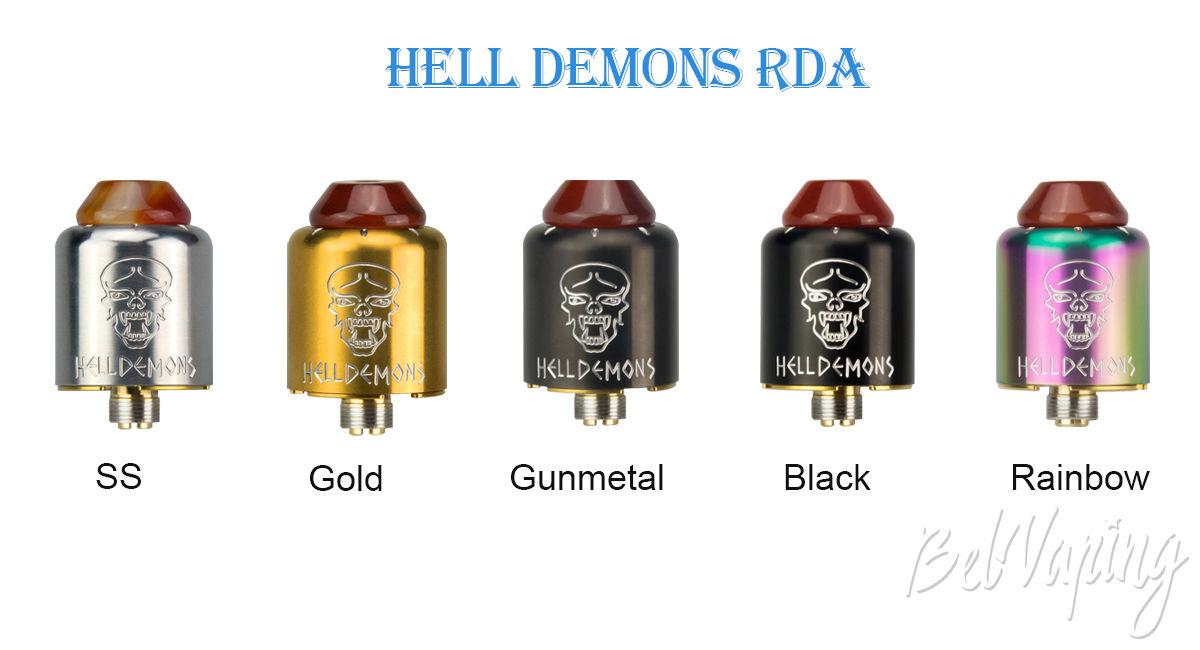 Цвета Ystar Hell Demons RDA
