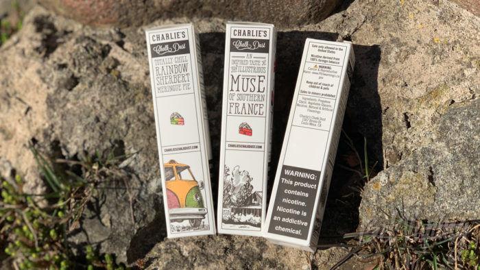 Упаковка жидкости Meringue от Charlie'S Chalk Dust