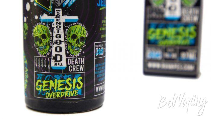 Жидкости DEATH CREW '88 от Ruvapes - вкус GENESIS OVERDRIVE