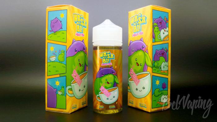 Жидкости WASABI от ButterBro - вкус Pear Tea