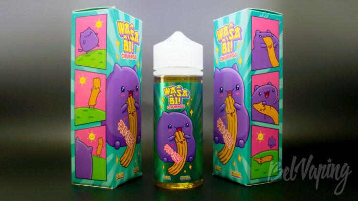 Жидкости WASABI от ButterBro - вкус Churros