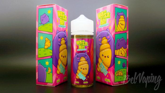 Жидкости WASABI от ButterBro - вкус Croisant