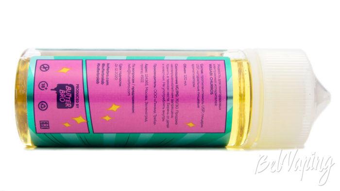 Жидкости WASABI от ButterBro - информация на этикетке