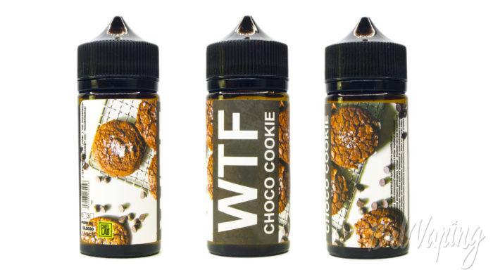 Жидкости WTF от ChelLab - вкус CHOCO COOKIE