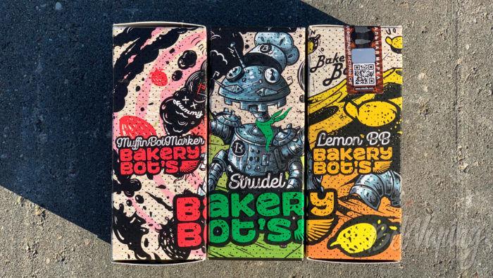 Упаковка жидкости Bakery Bot's