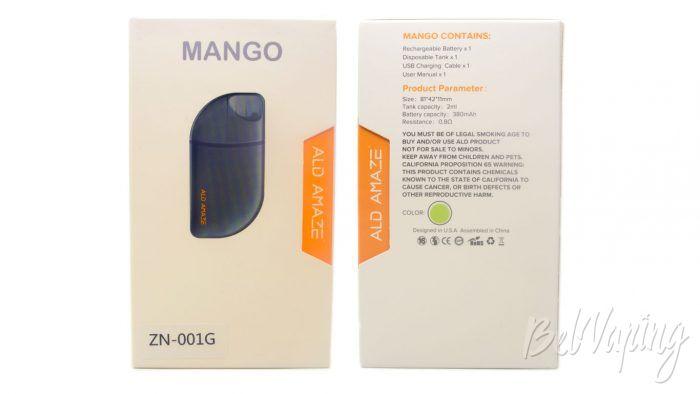 Ald Amaze MANGO pod - упаковка