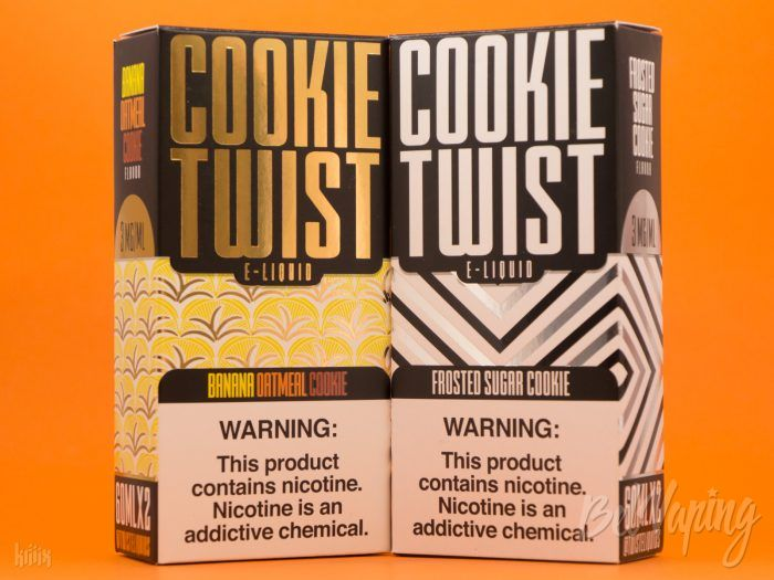 Жидкости Cookie Twist E-Liquid