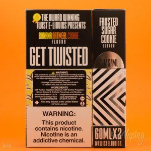 Упаковка жидкости Cookie Twist E-Liquid