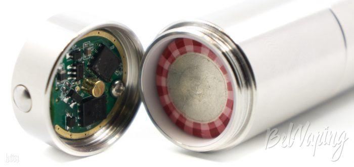 Установка аккумулятора в Cthulhu Tube Mod