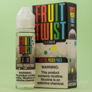 Упаковка и этикетка жидкости Fruit Twist E-Liquid