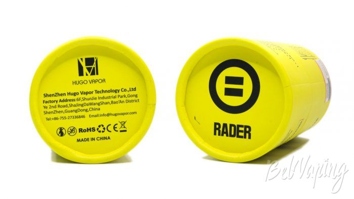 Hugo Vapor RADER MAGE - упаковка